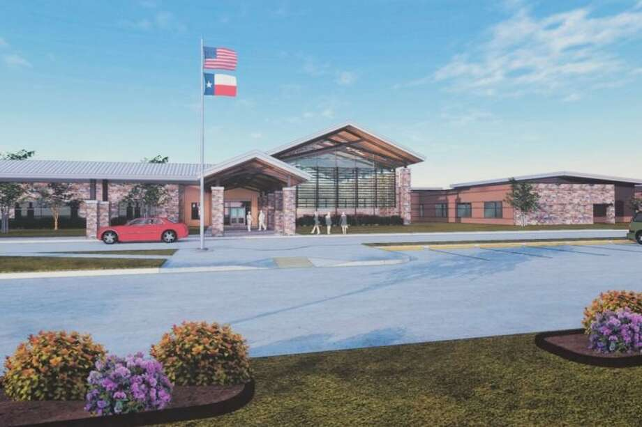 An artist rendering depicts the renovated McWhirter Elementary scheduled to open 2016.