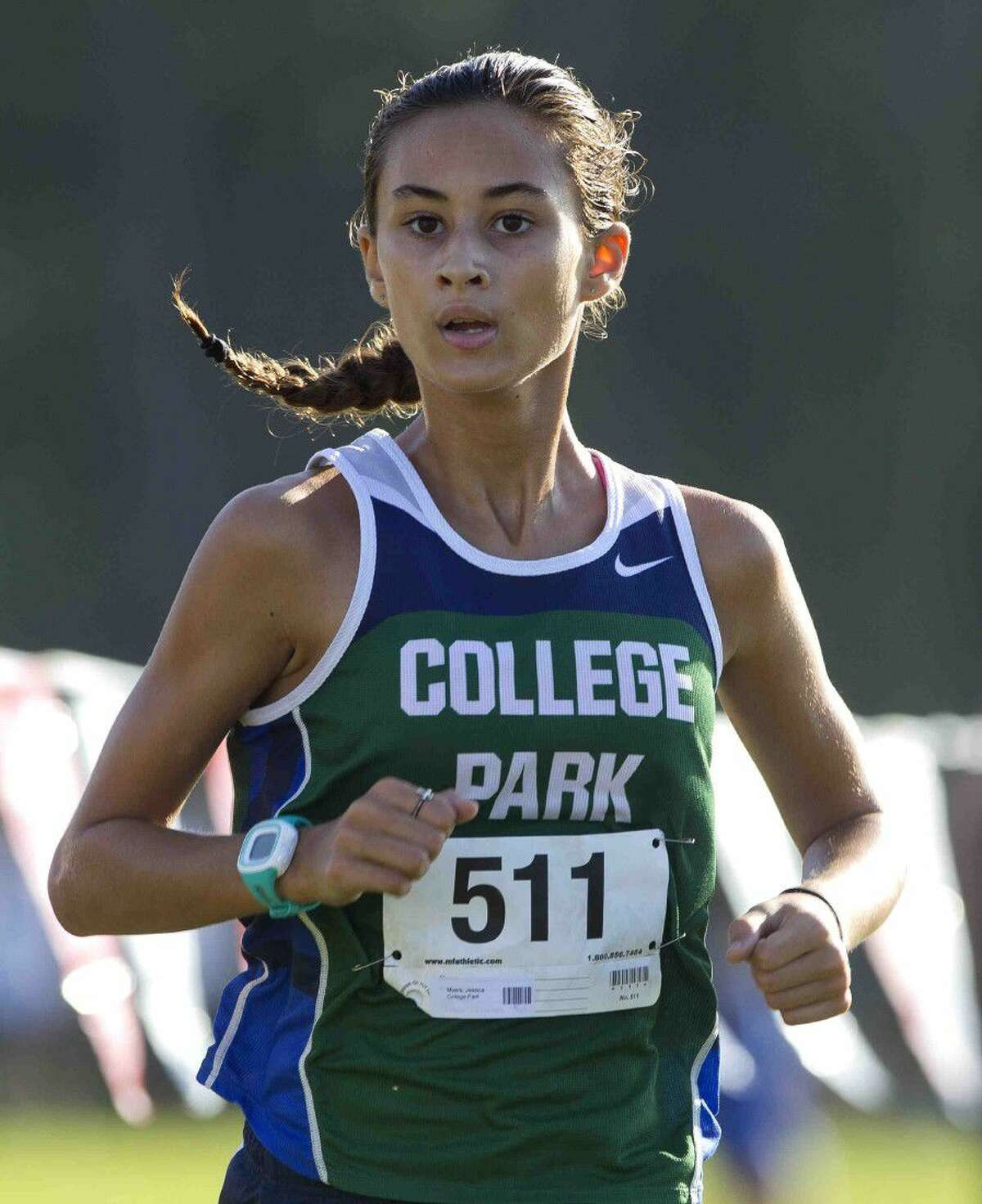 College Park sophomore Jessica Meyers finished second in the varsity girls race during the Oak Ridge Invitational Saturday.