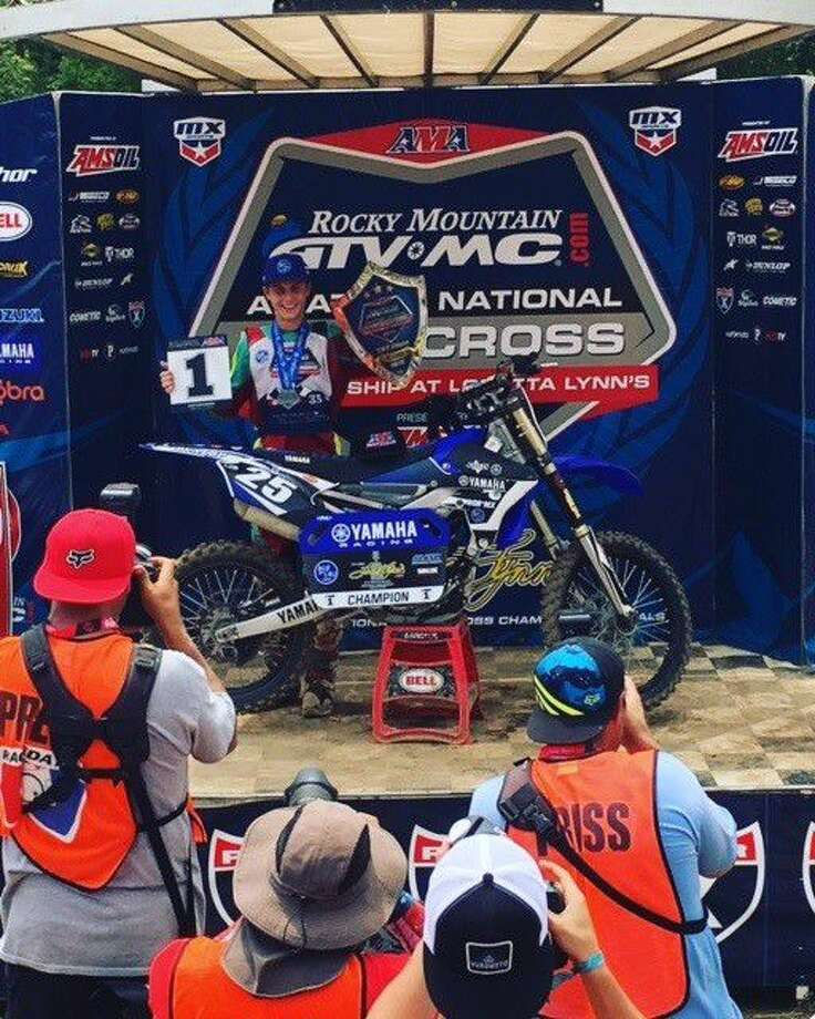 New Caney's Kyle White recently competed in the largest amateur motocross championship event in the world.
