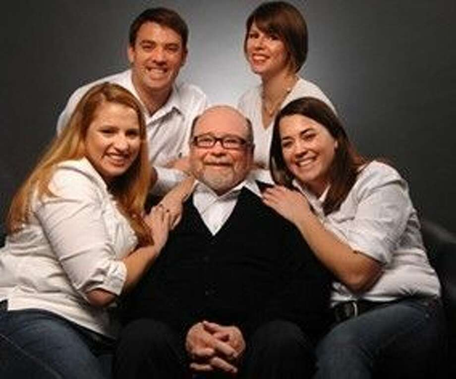 Judge Fred Edwards, surrounded by family, was a sixth-generation Texan.