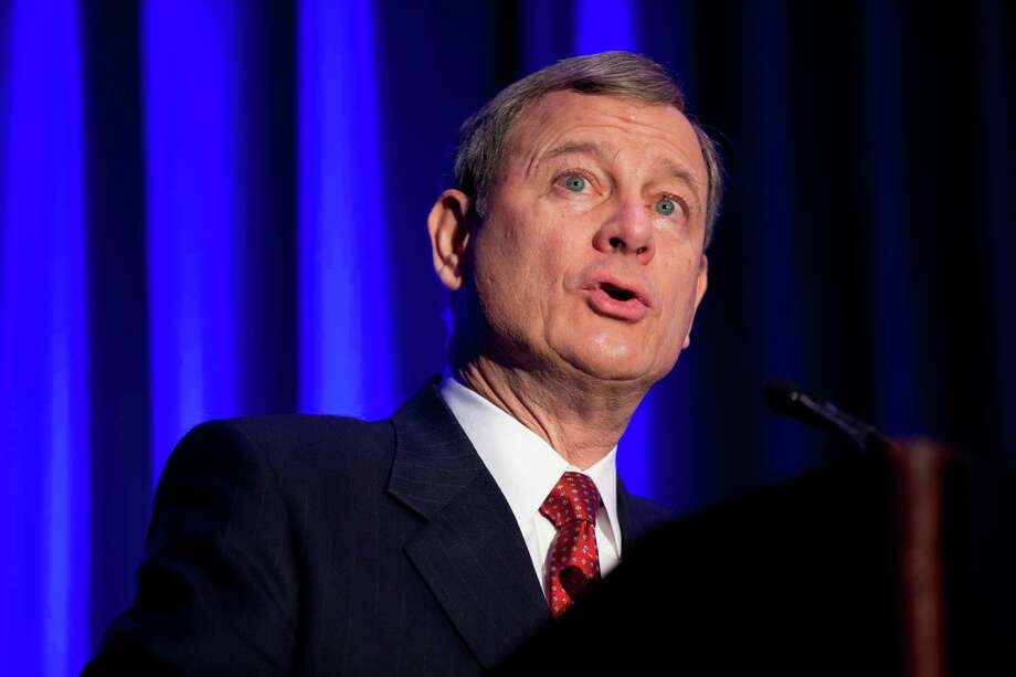 Supreme Court Chief Justice John Roberts. On Sept. 6, Roberts temporarily blocked a congressional subpoena that seeks information on how the classified advertising website Backpage.com screens ads for possible sex trafficking. The order came hours after Backpage CEO Carl Ferrer asked the high court to intervene, saying the case threatens the First Amendment rights of online publishers. Photo: Andrew Harnik, Associated Press / Copyright 2016 The Associated Press. All rights reserved.