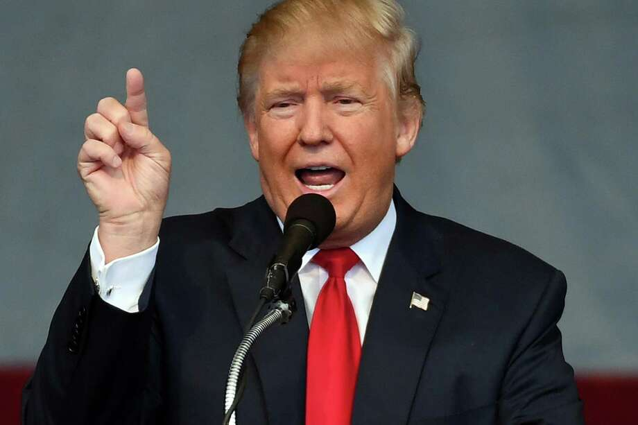 President Donald Trump: He is carrying on America's political wars even while serving as self-described commander in chief in war on COVID-19 pandemic. Photo credits: Ethan Miller, Getty Images / 2016 Getty Images