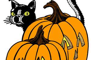 Our wonderful graphic artist Mike Fisher captured the Halloween spirit in eight coloring book images (here's one of them colored in) for the Express-News Halloween Coloring Contest, where two winners each will receive a prize package worth $530.