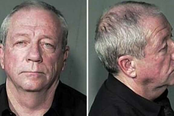 Editor Michael Lacey's 2007 mugshot. After Lacey and publisher Jim Larkin sued the Maricopa County Sheriff's Office over their arrests, the office settled for $3.75 million.