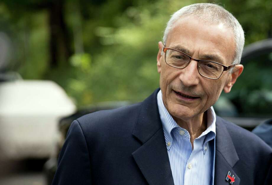 The WikiLeaks released a new round of emails from the personal account of Clinton campaign chairman John Podesta. Photo: Andrew Harnik, STF / Copyright 2016 The Associated Press. All rights reserved.