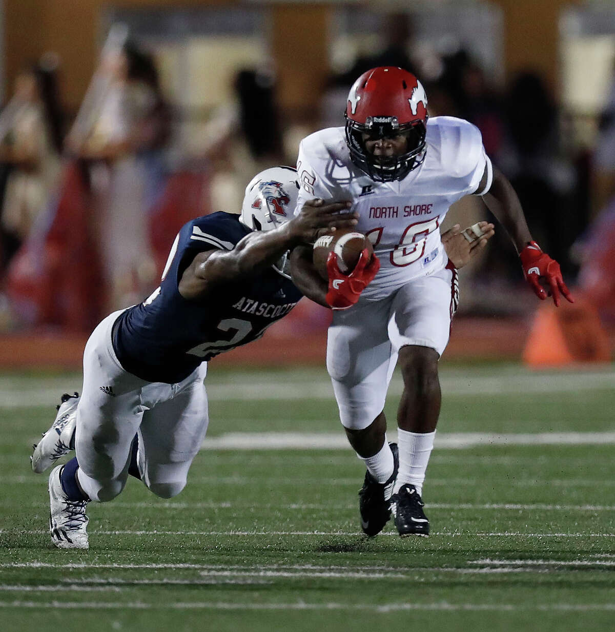 CLASS 6A 2. North Shore (6-1) This week: vs. Channelview, 7 p.m. Friday at Maddry