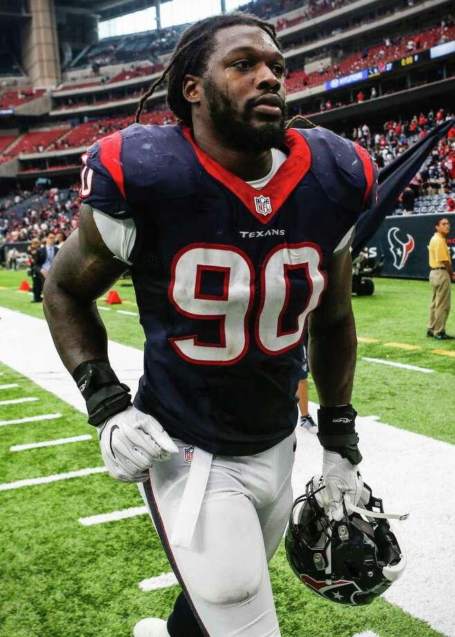 Texans defensive end Jadeveon Clowney has four sacks this season. Photo: Brett Coomer, Staff / © 2016 Houston Chronicle