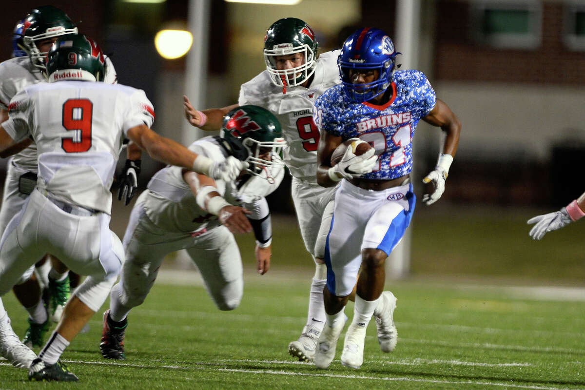 3. West Brook (9-1) This Week: West Brook clinched the second seed in District 12-6A with a 48-19 over Conroe. Next: plays Longview Friday at the Thomas Center
