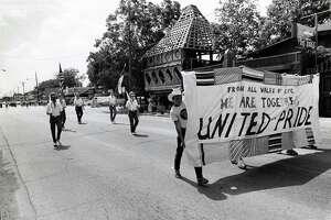 07/01/1979 - Gay Pride Week Parade on Westheimer