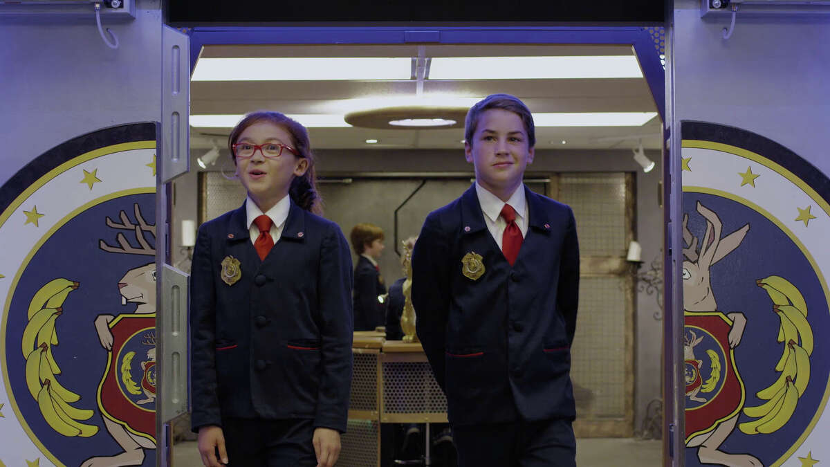 """Agents from the current season of the PBS Kids television series, """"Odd Squad."""""""