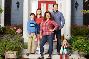 """The cast of """"American Housewife"""" on ABC."""
