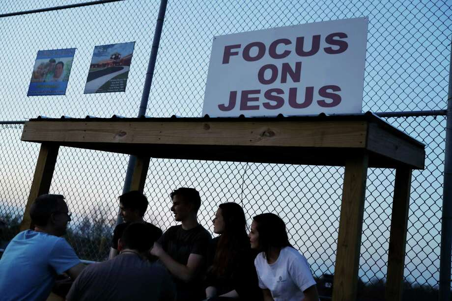 In a new theology study, about two-thirds of the Americans surveyed said Jesus is God. But then, half said Jesus was a being created by God. Photo: David Goldman, STF / Copyright 2016 The Associated Press. All rights reserved. This material may not be published, broadcast, rewritten or redistribu