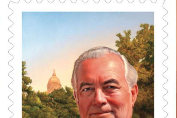 FatherTheodore Hesburgh will be honored with a stamp in 2017.
