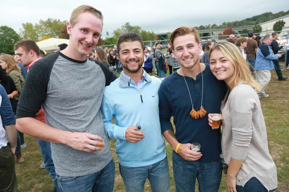 The fourth annual Hoptoberfest Beer and Wing Festival was held on  October 8, 2016 at the Shelton Riverwalk. Attendees enjoyed unlimited  wings from at least 10 different restaurants, more than 80 craft beers  with unlimited samples and live music. The Hoptoberfest Beer and Wing  Festival is put on by the Derby-Shelton Rotary Club and all proceeds  raised will go back to the Derby and Shelton Communities. Were you SEEN? Photo: Derek Sterling