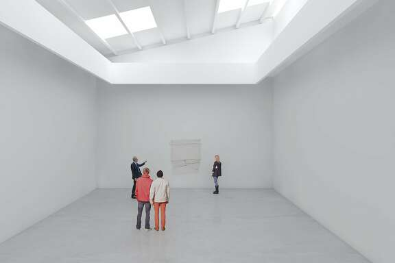 A rendering of the Adrian Rosenfeld gallery, slated to open in San Francisco early 2017 at 1150 25th St.