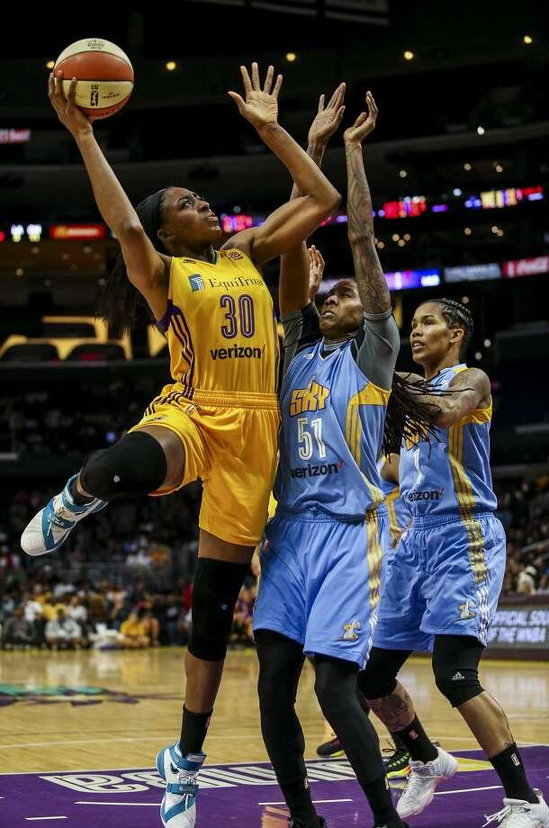 Former Stanford forward Nneka Ogwumike is the WNBA's MVP. Photo: Ringo H.W. Chiu, Associated Press