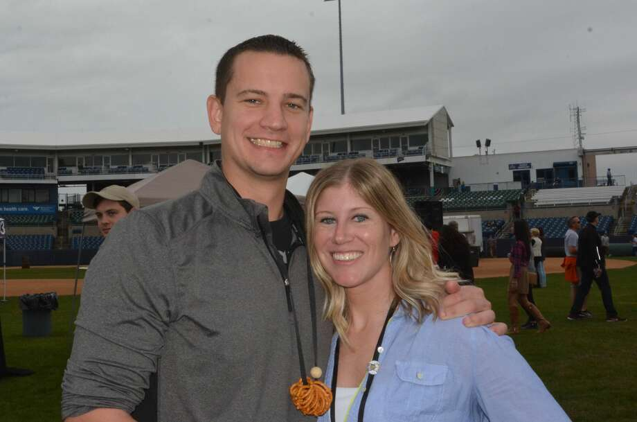 The fifth annual Harbor Brew Fest was held on October 8, 2016 at the Ballpark at Harbor Yard in Bridgeport. Guests enjoyed beer tastings, local food trucks and live music. Special guests were also granted access to the Brewer's Beer Garden where limited release and hard-to-find beers were served. Were you SEEN? Photo: Vic Eng / Hearst Connecticut Media Group