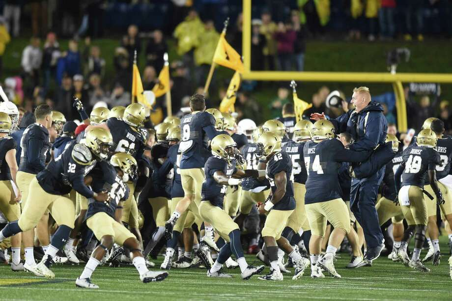 Navy upsets Houston and playoff picture