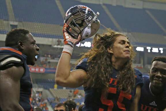 Linebacker Josiah Tauaefa led UTSA with 115 tackles last season, becoming the first player in school history to make the freshman All-America team.