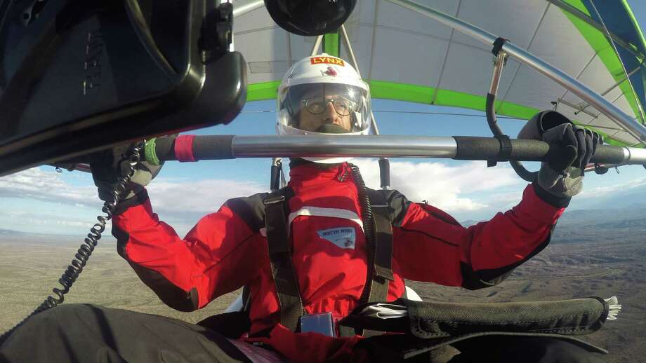 David Grabowski ditched his 9-to-5 to fly across the country in a single seat aircraft to re-create the 1911 flight of Cal Rogers, the first man to fly across country. Photo: Courtesy /David Grabowski