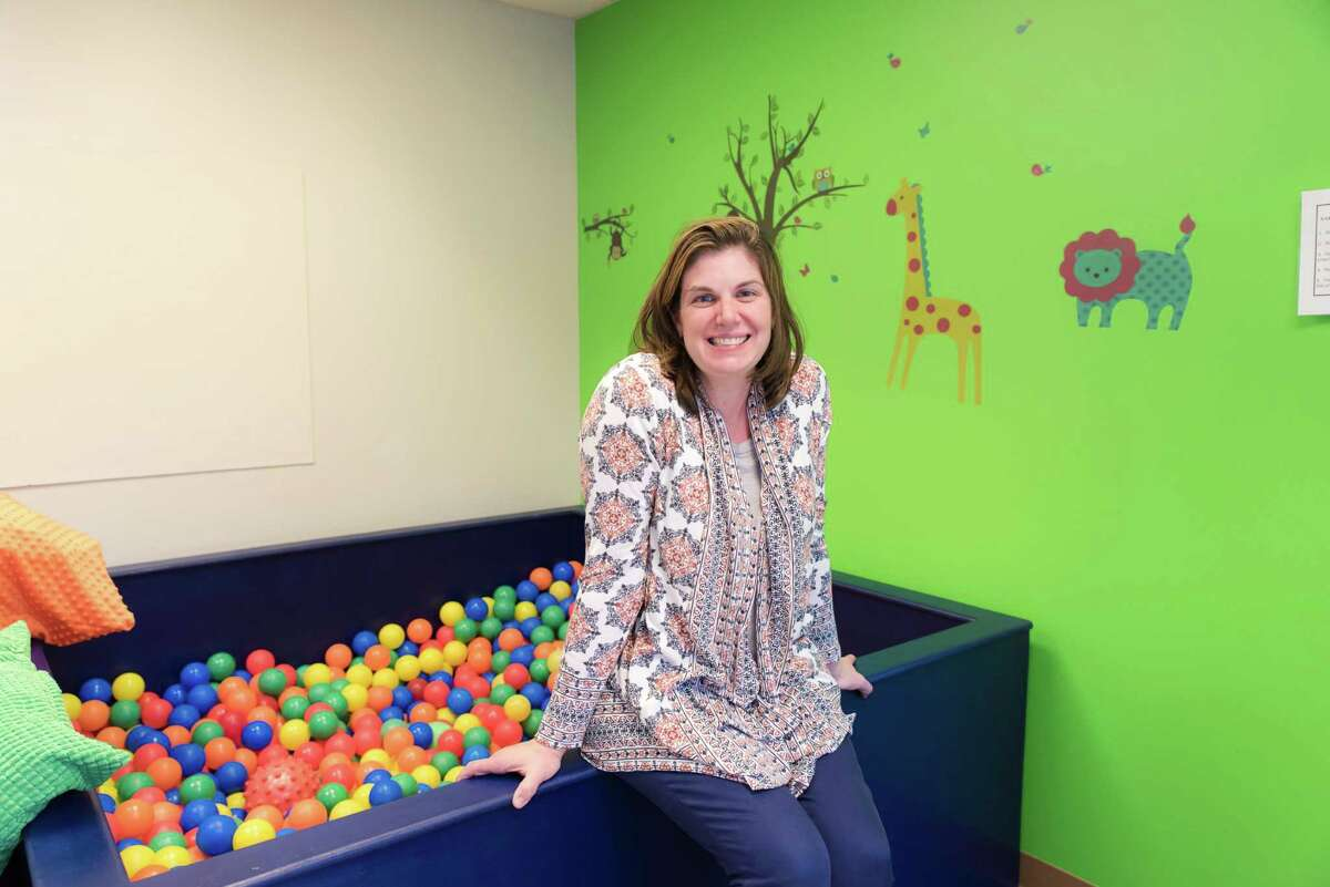 Jennifer Basch, Managing Partner of Connect to Talk on High Ridge Road in Stamfrod, Conn. on Oct. 6, 2016. Connect to Talk is a speech pathology practice that helps children with special needs develop their communication skills.