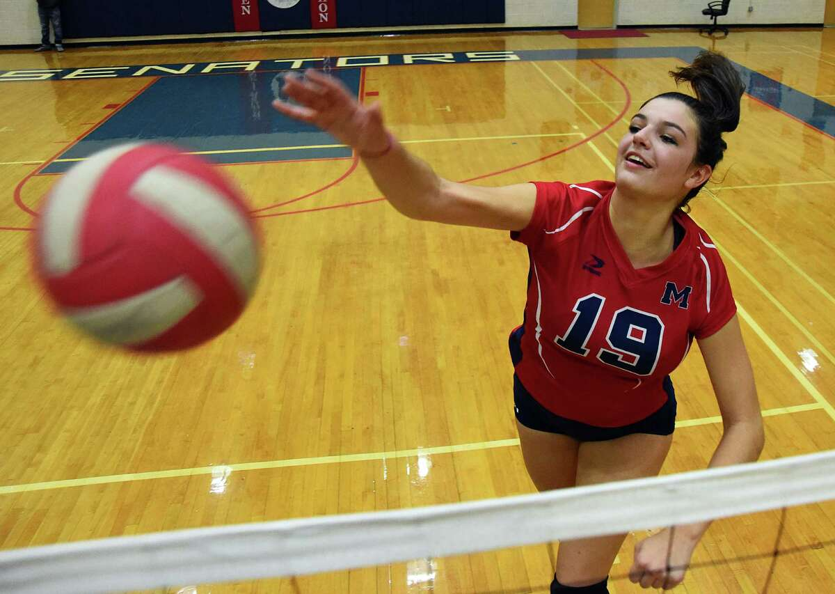 Brien McMahon senior outside hitter Meredith Pellegrino has helped change the culture around the Senators volleyball program.