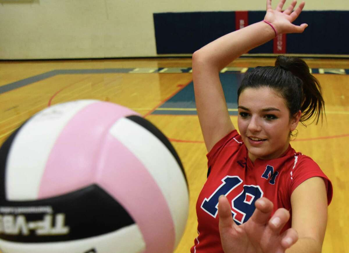 Brien McMahon senior volleyball player Meredith Pellegrino has helped change the culture of the Senators program over the past four years.