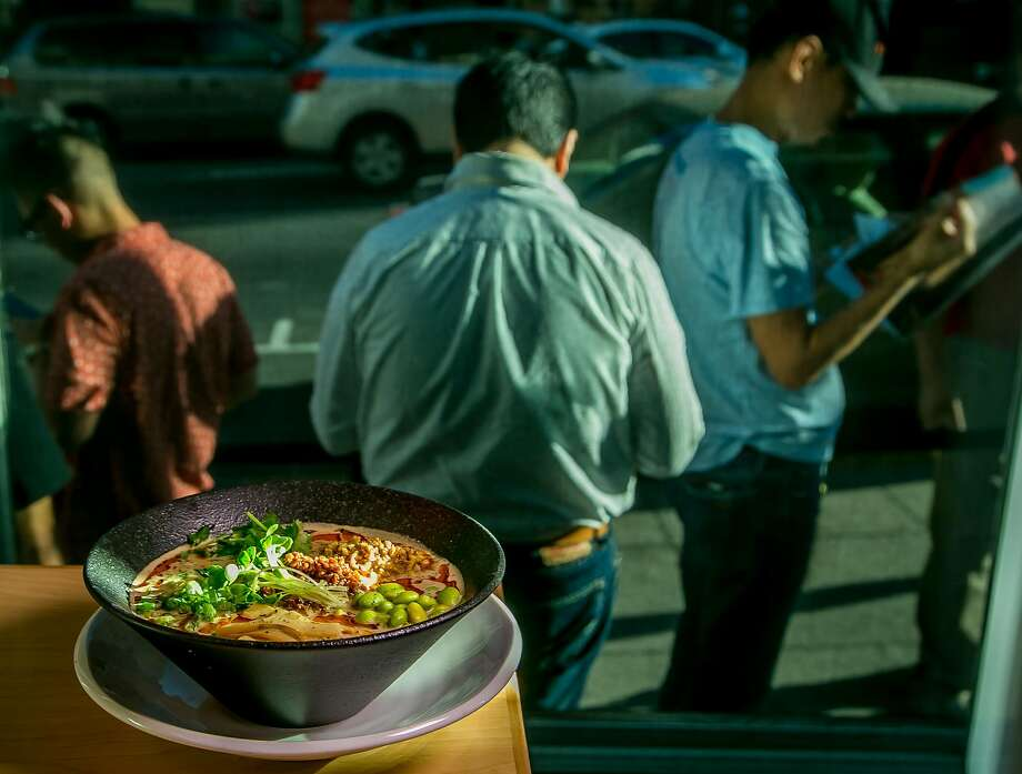 The vegan tantanmen at Mensho Tokyo in San Francisco. Photo: John Storey, Special To The Chronicle