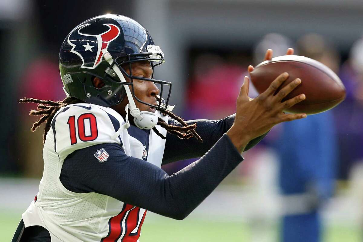 FIND HOPKINS EARLY It's preposterous that the Texans couldn't complete a pass to DeAndre Hopkins until 7:15 remained in the third quarter of the loss to the Vikings. He must be involved early, even if it's a quick screen, a slant or just a 3-yard completion. Bill O'Brien calls the plays, and it's up to him to target Hopkins. It's up to Brock Osweiler to get him the ball. And it's up to Hopkins to catch it. He has to fight through double coverage and capitalize on zones. He's too good to be a decoy.