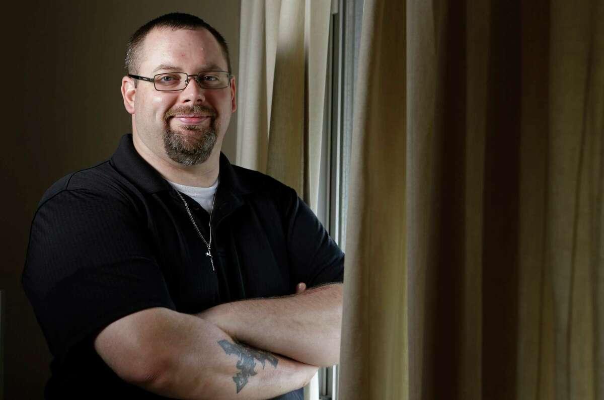 Brandon Baker, now a mechanic for a metalwork company