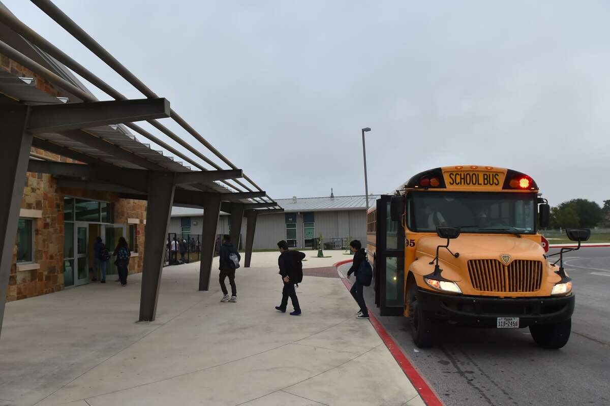 Students arrive at Somerset Junior High School, where eighth-graders have successfully taken ninth-grade algebra for years.