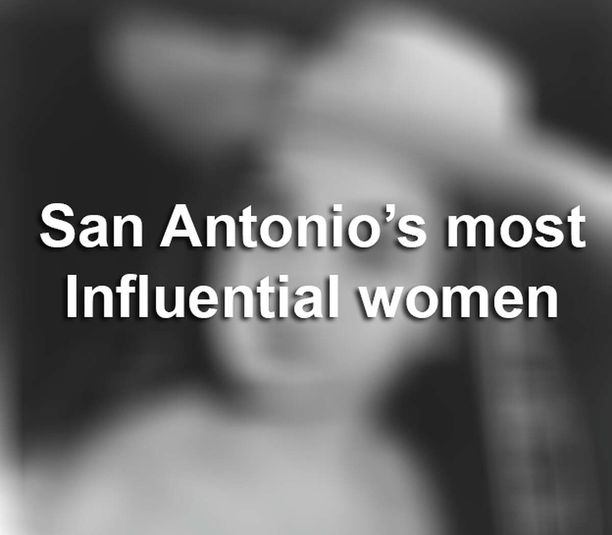 San Antonio history is full of pioneering women who have made great strides forward. Click through the gallery to get to know some of the most influential women in San Antonio history.