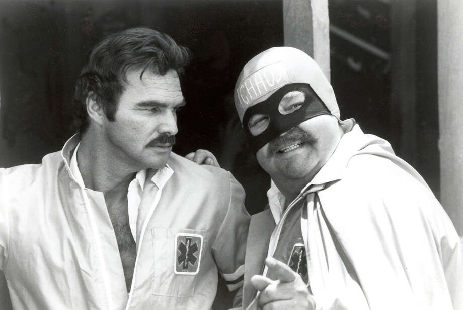 """Brock Yates' Cannonball Run inspired a 1976 feature film """"Cannonball"""" starring Burt Reynolds and Dom DeLuise. The two also appeared in """"The Cannonball Run"""" in 1982.          Brock Yates' Cannonball Run inspired a 1976 feature film """"Cannonball"""" starring Burt Reynolds and Dom DeLuise. The two also appeared in """"The Cannonball Run"""" in 1982. Photo: HO / 20th Century Fox"""
