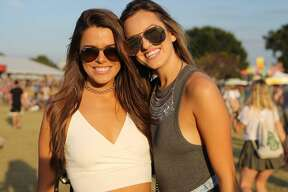 The final weekend of Austin City Limits Music Festival featured more of the same rowdy rock and perfect weather. The four-day festival over two weekends was expected to draw about 450,000 or more. Here's a look at some of those who joined in on Saturday, Oct. 8, 2016.