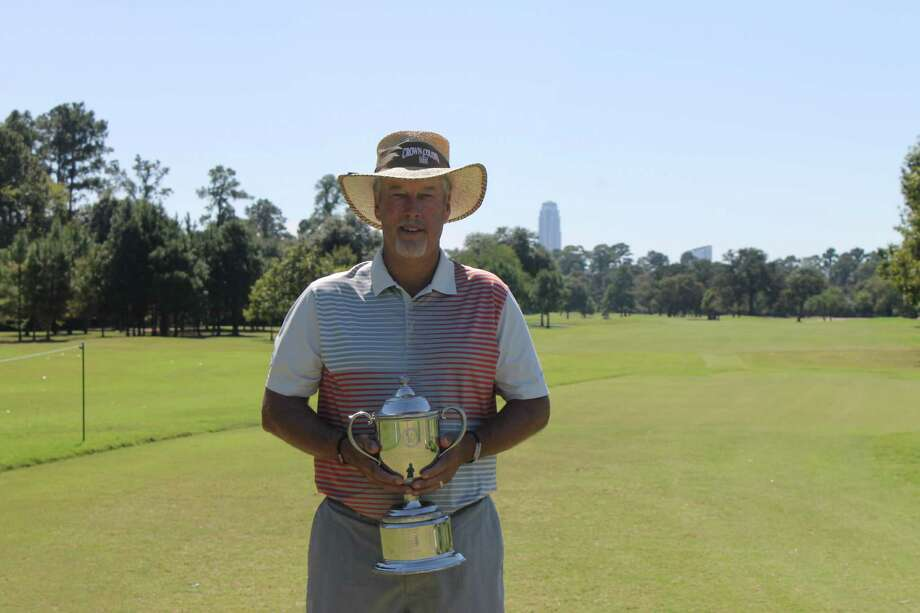 John Dowdall of Fulshear won the 2016 Greater Houston Senior City Amateur Championship at Memorial Park Golf Course on Sunday, Oct. 9, 2016.  Courtesy photo