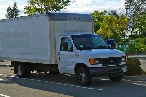 23-year-old Google employee Brandon S. lives in a   box truck   in the company's parking lot. The 128-square foot truck cost him $10,000, and is sparsely furnished with a bed, dresser, and clothes rack. He eats and showers at Google, and is able to save 90% of his income.