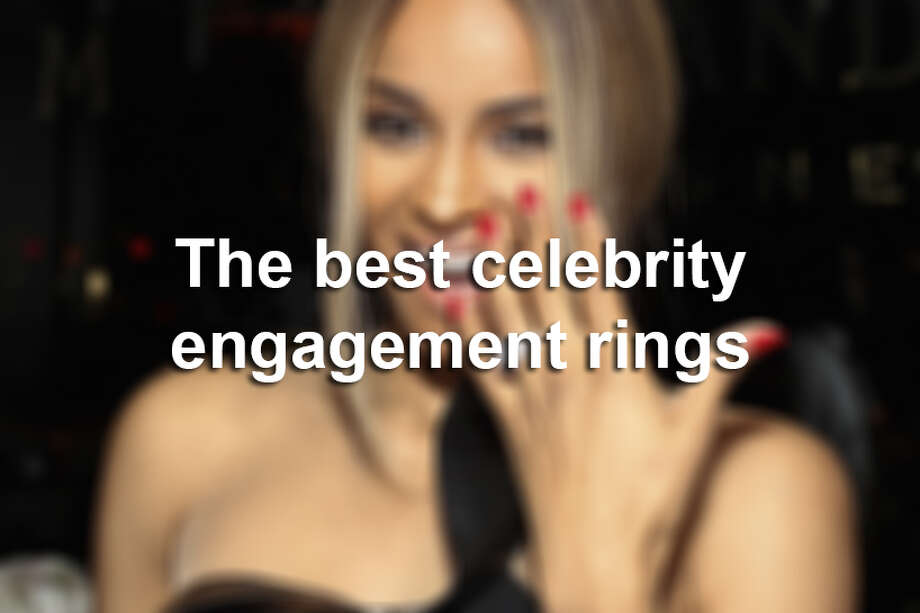 Keep clicking to see the most memorable celebrity engagement rings. Photo: File