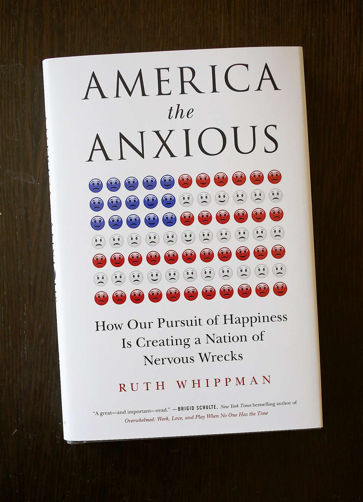 """Author Ruth Whippman has a new book """"America the Anxious"""" on Friday, October 7, 2016, in Berkeley, Calif."""
