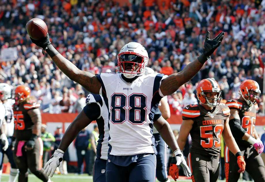 New England PatriotsMartellus Bennett, TE, Alief TaylorA basketball and football star at Alief Taylor, Bennett is a household name in the NFL these days. He has 55 catches for 701 yards and seven touchdowns this season. Photo: Ron Schwane, Associated Press / FR78273 AP