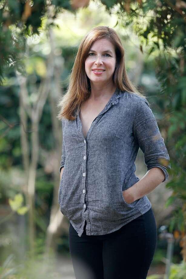"Author Ruth Whippman has a new book ""America the Anxious"" on Friday, October 7, 2016, in Berkeley, Calif. Photo: Liz Hafalia, The Chronicle"
