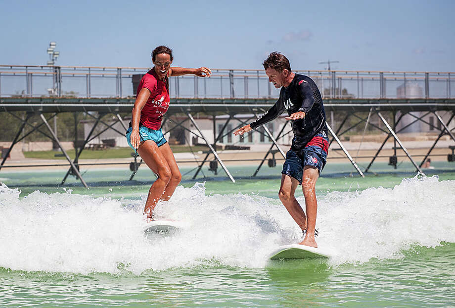 "An Austin-based company opened what they call ""America's first surf park,"" a lagoon that creates artificial waves of different sizes. The 14-acre park opened on Oct. 7, 2016. Photo: NLand Surf Park LLC"