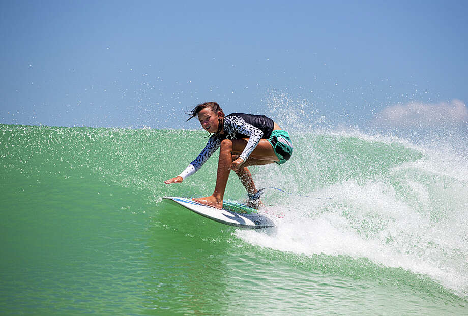 """An Austin-based company opened what they call """"America's first surf park,"""" a lagoon that creates artificial waves of different sizes. The 14-acre park opened on Oct. 7, 2016. Photo: NLand Surf Park LLC"""