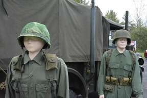 A scene from the Michigan Vietnam Veterans Traveling Memorial in October 2016.