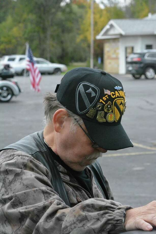 A scene from the Michigan Vietnam Veterans Traveling Memorial in October 2016. Photo: Photo Provided