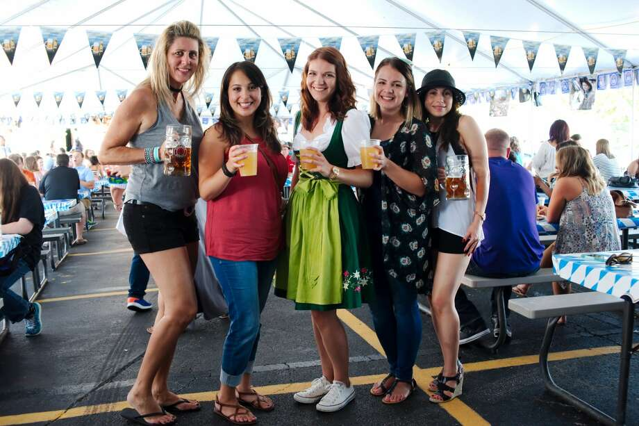 PearlandKing's Biergarten's patio gets loud on the weekends, with live music, delicious food and, if you're daring, a snow ski with four shot glasses attached for you and your three best friends.1329 E. Broadway Street, Pearland Photo: Kirk Sides/Pearland Journal