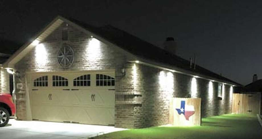 You can bask in the warm feeling of eave lights at your home! Call City Wide Electric at 697-6456 for a free estimate.