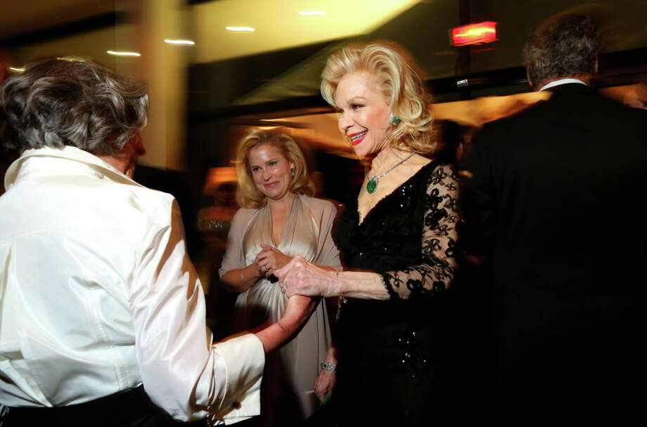Lynn Wyatt the MFAH Grand Gala Ball on Friday, Oct. 7, 2016, in Houston. Photo: Annie Mulligan, Houston Chronicle / © 2016 Houston Chronicle