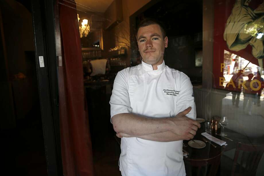 Chef Anthony Florian has turned Seven Hills restaurant on Hyde Street in S.F. into a three-star destination. Photo: Michael Macor, The Chronicle