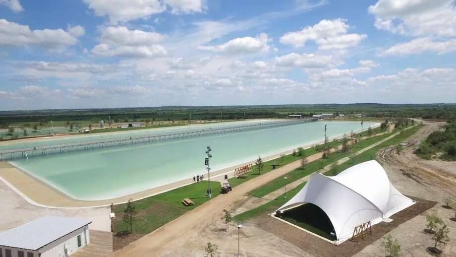 """An Austin-based company opened what they call """"America's first surf park,"""" a lagoon that creates artificial waves of different sizes. Oct. 4, 2016. Photo: NLand Surf Park LLC"""