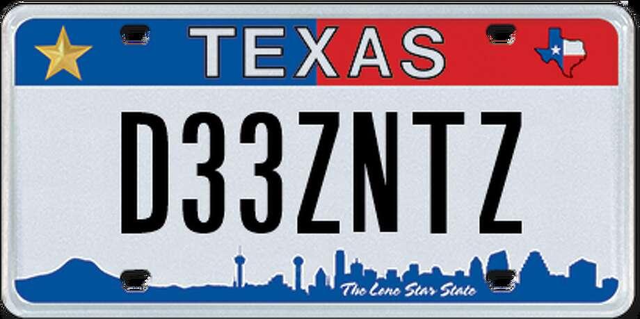 Gallery Rejected Licence Plates In Texas San Antonio